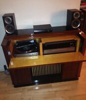 Meuble Philips 1954 impeccable