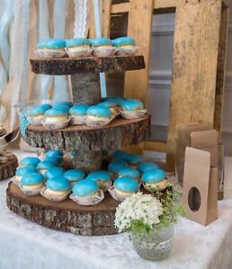 Rustic sweets table or bar items for rent