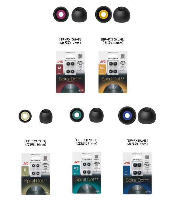 Купить Spiral Replacement Earpiece Pieces EPFX10 Size Black (Запасные Части , Инструменты) заказать с доставкой лот № 293164455297