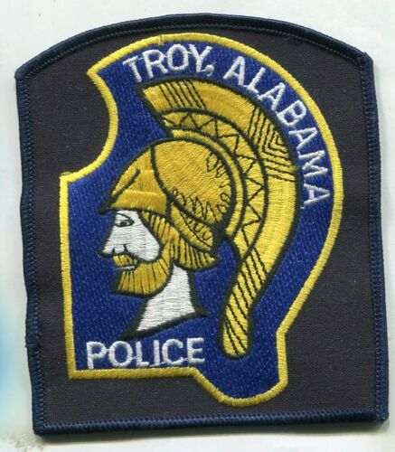 TROY, ALABAMA POLICE SHOULDER PATCH