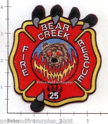 North Carolina - Bear Creek Fire Rescue NC Fire Dept Patch