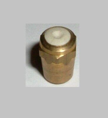 Brennerdüse 7 Liter Messing ohne Gewinde Ersatzteil Bergbau Karbidlampe