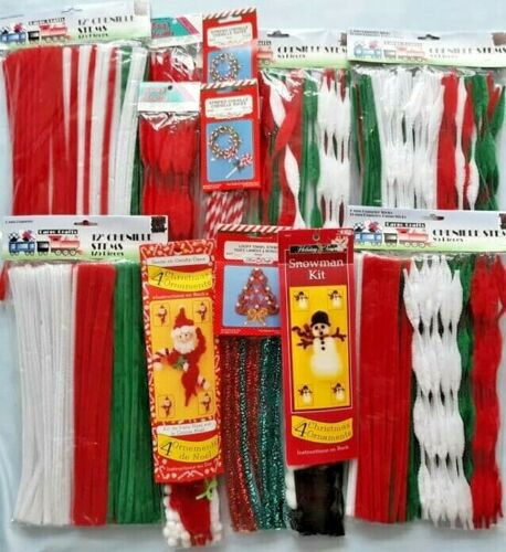 Christmas Chenille Stems Craft Box - KEEP THE KIDS BUSY!!