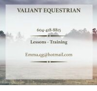 RIDING LESSONS in KELOWNA
