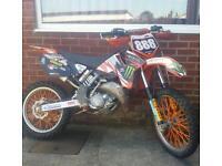 Ktm sx125 motorcross bike crosser pit bike field 85 250 yz rm cr kx moped quad
