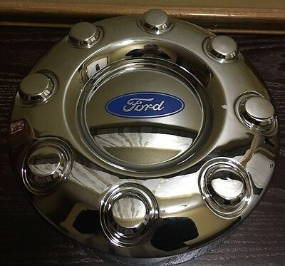 NEW 2005-2015 Ford F-350 F350 Dually 2WD FRONT Wheel Chrome Center Hub Cap AM