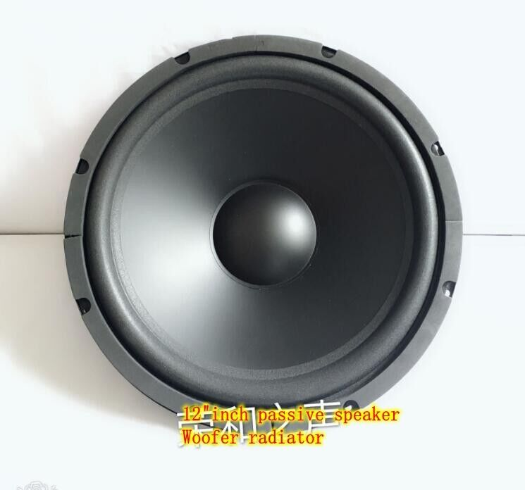 "2pcs 12""inch passive speaker Bass radiator Auxiliary woofer Home Audio Parts"