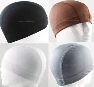 1-Piece-Spandex-Dome-Cap-Helmet-Liner-Sports-Biker-FootBall-Beanie-Hat-Headwrap