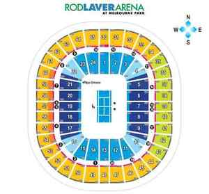Australian Open Two Men's Final Tickets - Price is for both North Turramurra Ku-ring-gai Area Preview