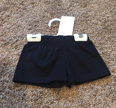 Girls 10 Black Cheerleading Dance Gymnastics Booty Bar Bike Shorts NWT! (Cheerleader Booty Shorts)