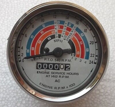 Fordson Super Power Major Tractor Clockwise Tachometer