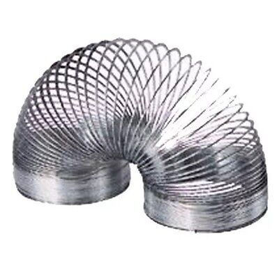 Original Metal Slinky Great Classic Toy Fun For Girl & Boy! Full Size 2.5 x 2.5""