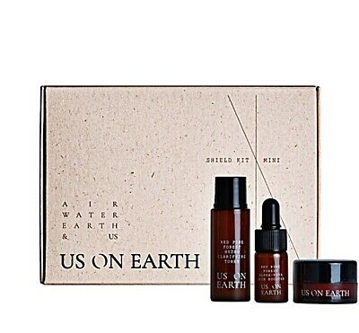 [UOE] Red pine 3 miniature Kit_ for acne K-beauty officeal VEGAN Anti-wrinkle