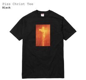 Supreme Piss Christ Tee - Large
