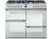 Brand new Stoves Sterling 1100 DFT - dual fuel 110cm range oven