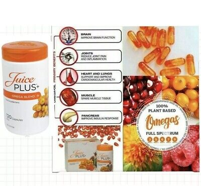 JUICE PLUS+ 10 X OMEGA Blend Capsules - Expiry date is July...