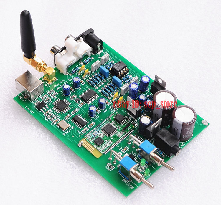 Audio & Video Replacement Parts Hifi Usb Amplifier Decoder Board Pcm2706 Card Usb Input Amplifier Dac Board Clearance Price Accessories & Parts