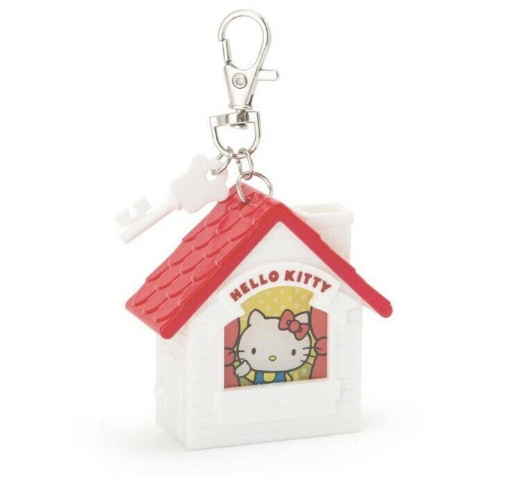 Hello Kitty Mini Led Light House Keychain By Sanrio