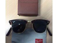 Rayban Club Master Foldable Sunglasses
