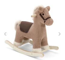 As new mamas & papas rocking horse with box