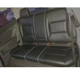 Audi A3 RS4 Rear Black Leather Seats