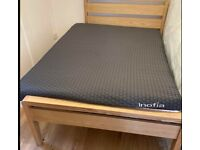 NEARLY NEW INOFIA DOUBLE MATTRESS WITH COVERS