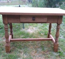 Oak Old Spanish kitchen table