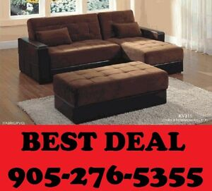 3PCS SECTIONAL SOFA BED WITH STORAGE IN ALL PCS $699.00