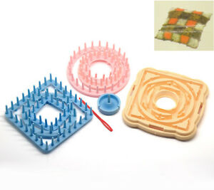 Set-Of-6-Sizes-9-pcs-Yarn-Craft-Maker-Flowers-Pattern-Tassels-Loom-DIY-Tools-Kit
