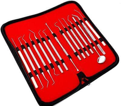 Dental Set Kit Scaler Picks Deep Cleaning Professional Oral Hygiene Tools