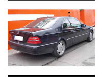 WANTED MERCEDES C140 - S500 CL500 S420 CL420