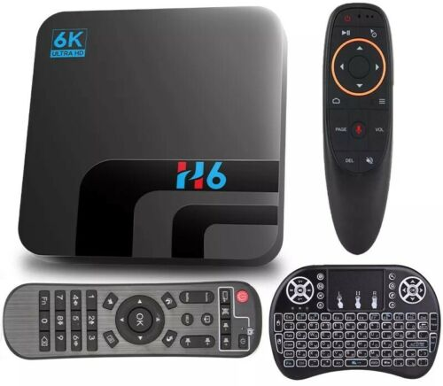 Android TV Box Android 10 4GB 64GB 6K 3D Video H.265 Media Player