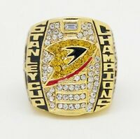 Anahiem 2007 Stanley Cup Replica Rings Moncton New Brunswick Preview