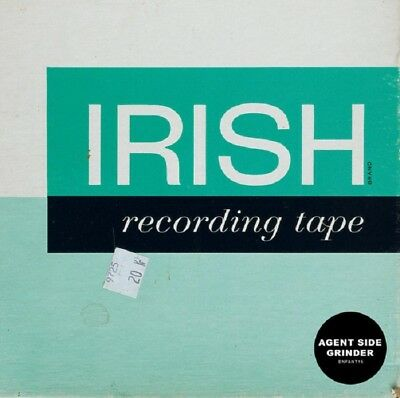 AGENT SIDE GRINDER Irish Recording Tape - LP / Green Vinyl (Reissue 2016)