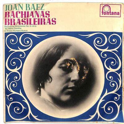 """Joan Baez - Bachianas Brasileiras - 7"""" Record Single"""
