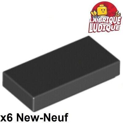 Silb Display Fittings 4504 6915 Lego 1 x Tile 3069bpx32 Black 1x2 bedr