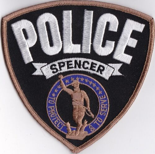 Spencer IN Indiana Police Patch