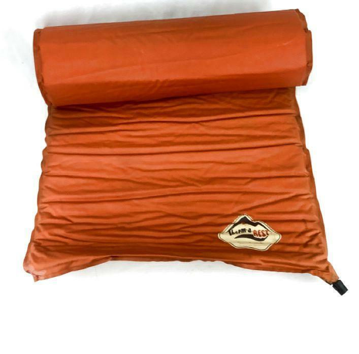 Thermarest Trail Orange Size Regular Backpacking Inflatable Sleeping Pad