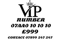 VIP GOLD MOBILE NUMBER 10 10 10