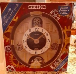 Seiko Wall Clock 30 Melodies in Motion Christmas & Classical Music