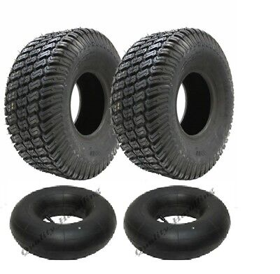 2 - 15x6.00-6 4ply Multi turf grass lawn mower tyre with tube 15 6.6 tire