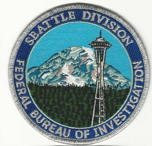 Space Needle FBI Seattle State Washington WA Scenic Police Sheriff