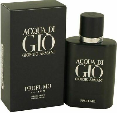 Acqua Di Gio Profumo Cologne by Giorgio Armani for Men Parfum 1.35 oz New In Box