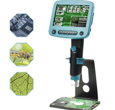 Digital Microscope Rechargeable Electronic 1080p Hd Video Magnifier
