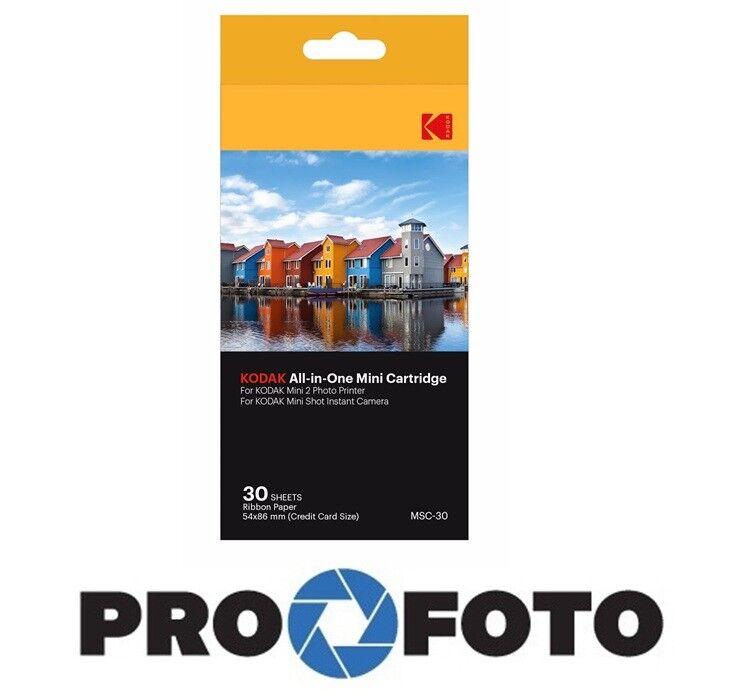 Kodak All-in-One Cartridge for Photo Printer Mini-2 / Minish