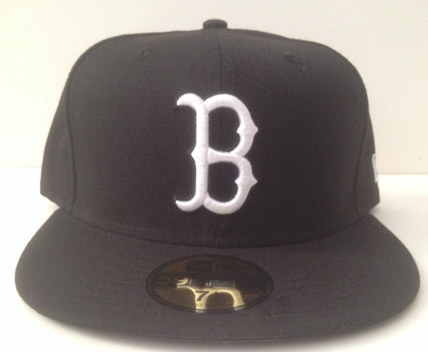 New Era 59 50 Fitted Hat - Boston Red Sox (Black White) (7-7 1 8-7 3 ... 3149b63f9d0