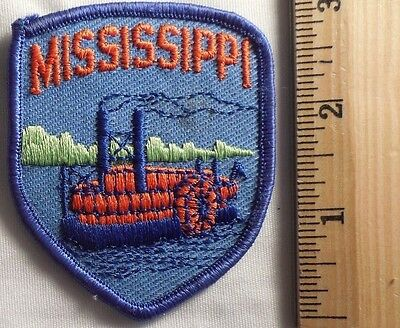 MISSISSIPPI PATCH (TRAVEL, SOUVENIR, STEAMBOAT)