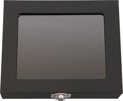 Carry All Small Black Pressboard Display Case 6.12 X 5.12 X 1.5