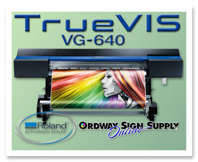 Refurbished Roland Truevis Vg 640 64 Printer Cutter Plus 1 Year Warranty