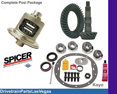 Late Dodge Chrysler 925 Posi Package Ring and Pinion Master Kit Track Lock 392
